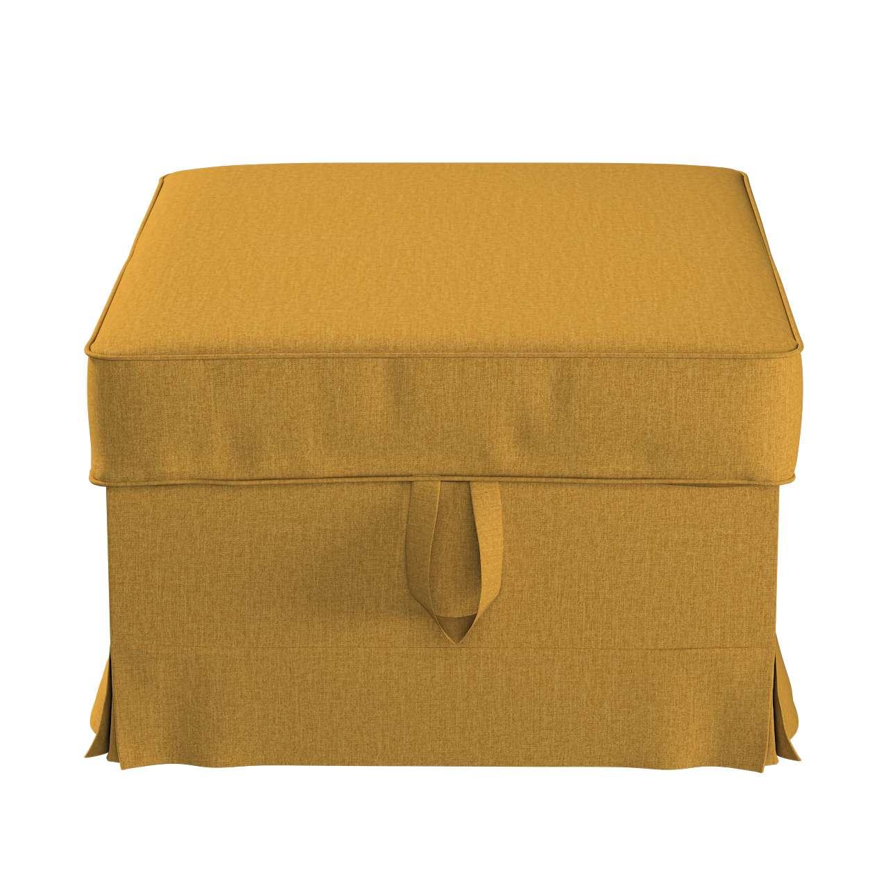 Pokrowiec na podnóżek Ektorp Bromma w kolekcji City, tkanina: 704-82