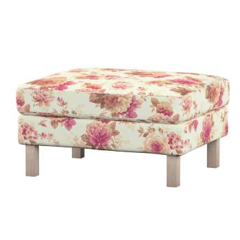 Karlstad footstool cover Karlstad footstool cover in collection Mirella, fabric: 141-06