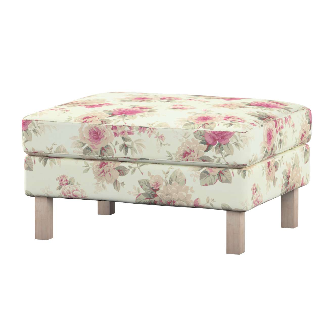 Karlstad footstool cover Karlstad footstool cover in collection Mirella, fabric: 141-07