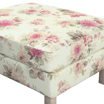 Karlstad footstool cover in collection Mirella, fabric: 141-07
