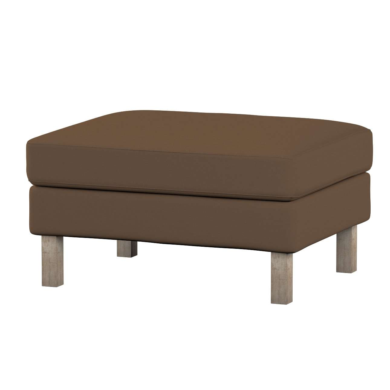 Karlstad footstool cover Karlstad footstool cover in collection Cotton Panama, fabric: 702-02