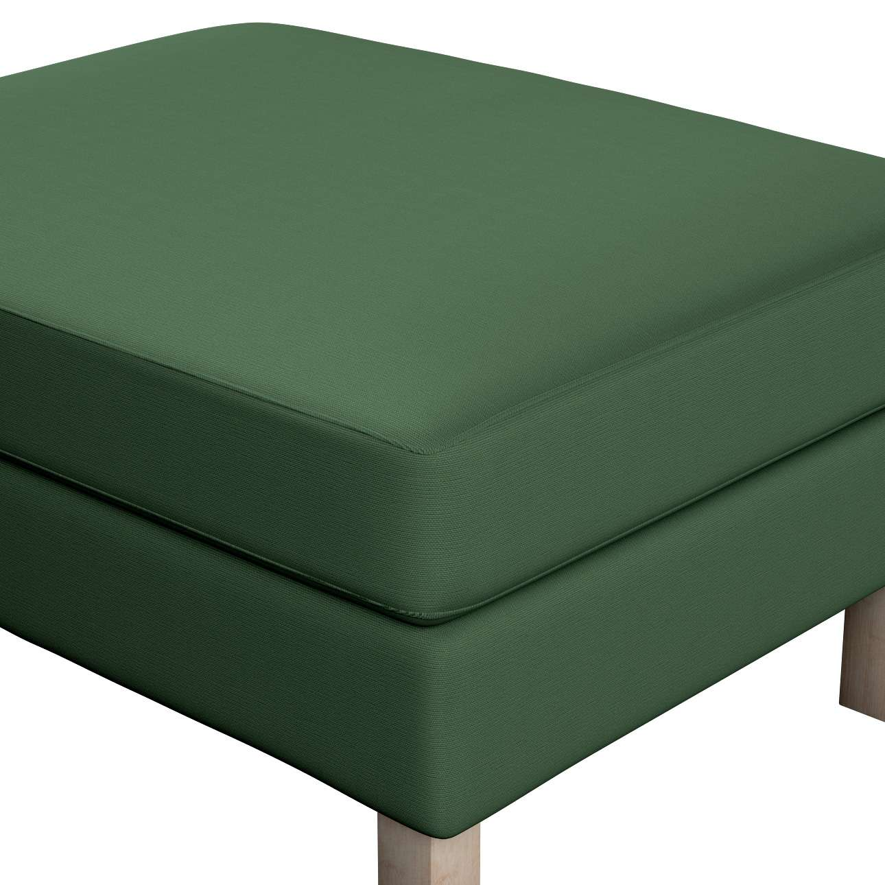 Karlstad footstool cover in collection Panama Cotton, fabric: 702-06