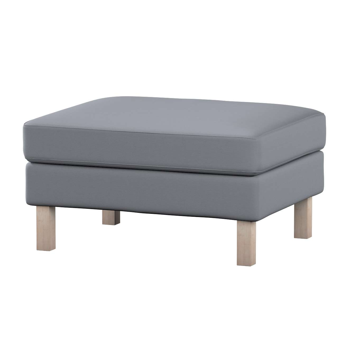 Karlstad footstool cover Karlstad footstool cover in collection Cotton Panama, fabric: 702-07