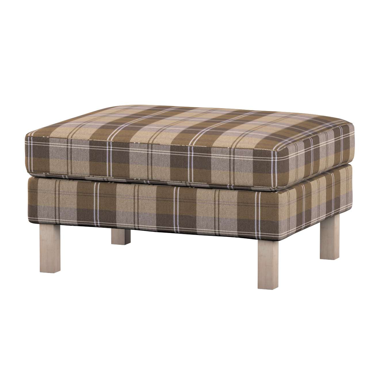 Karlstad footstool cover Karlstad footstool cover in collection Edinburgh, fabric: 115-76