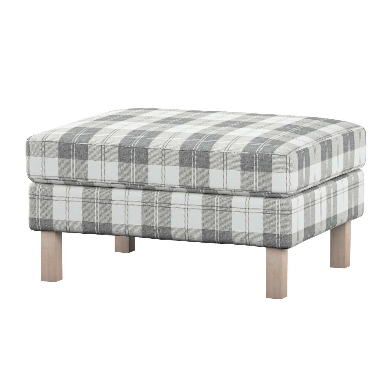 Karlstad footstool cover Karlstad footstool cover in collection Edinburgh, fabric: 115-79
