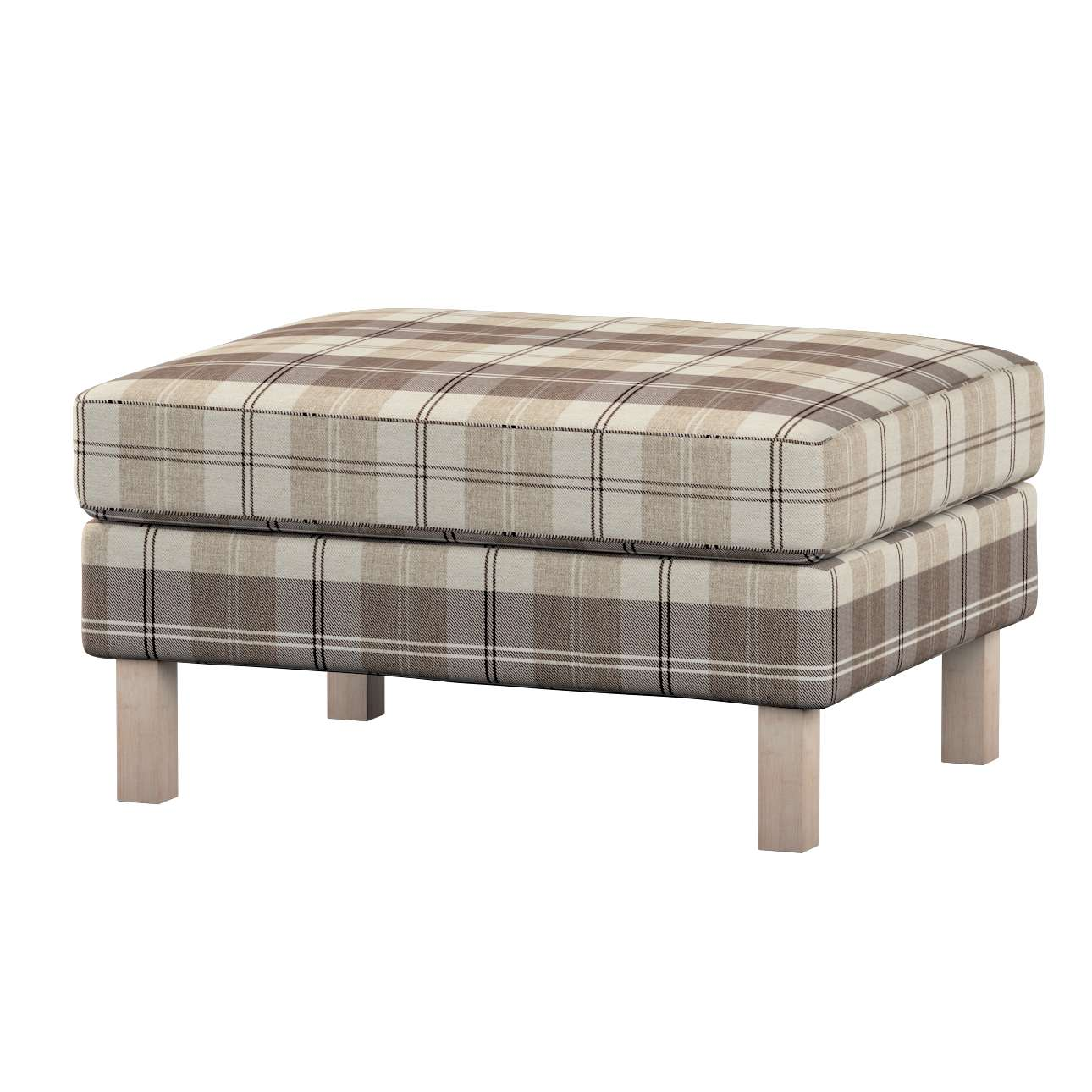 Karlstad footstool cover Karlstad footstool cover in collection Edinburgh, fabric: 115-80
