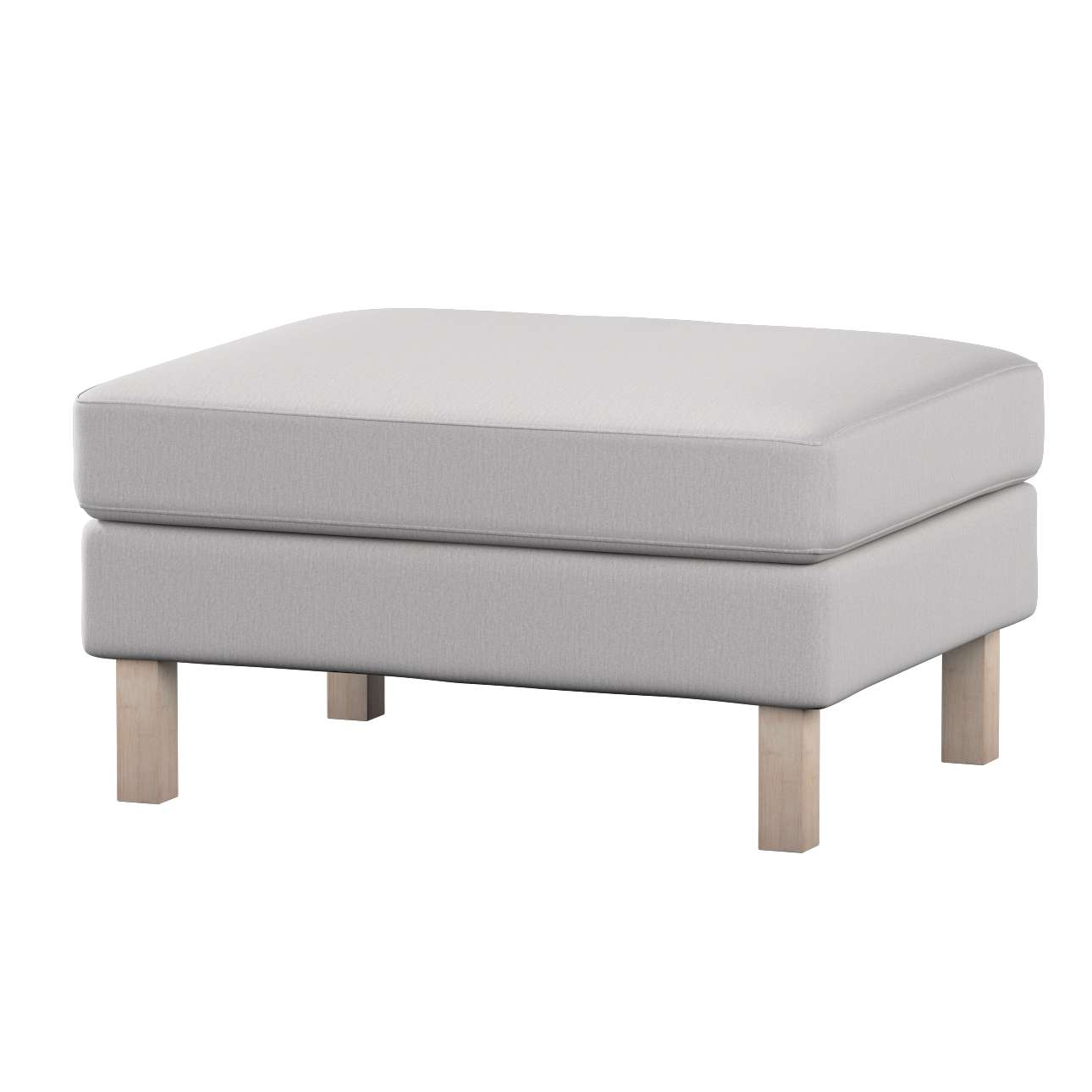 Karlstad footstool cover Karlstad footstool cover in collection Chenille, fabric: 702-23