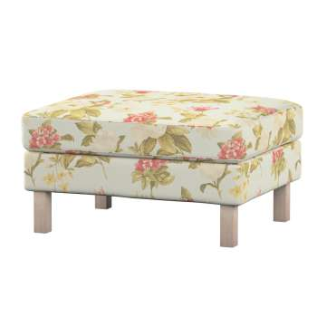 Karlstad footstool cover Karlstad footstool cover in collection Londres, fabric: 123-65