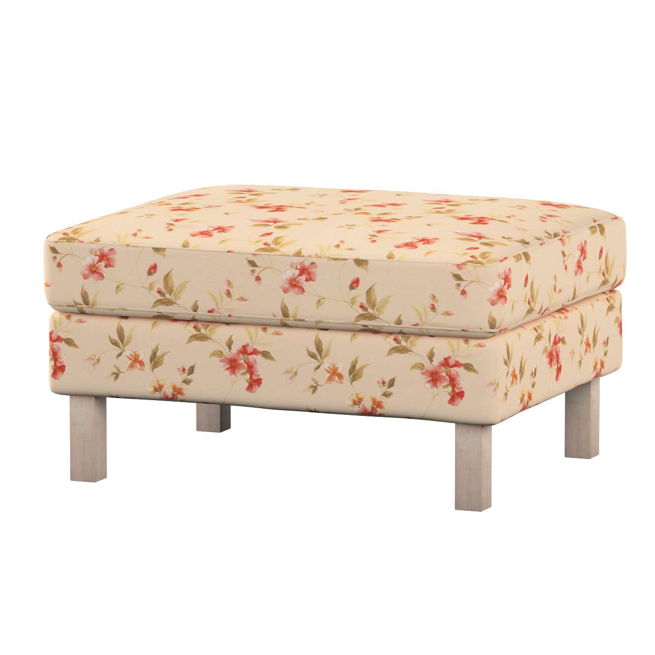 Karlstad footstool cover Karlstad footstool cover in collection Londres, fabric: 124-05