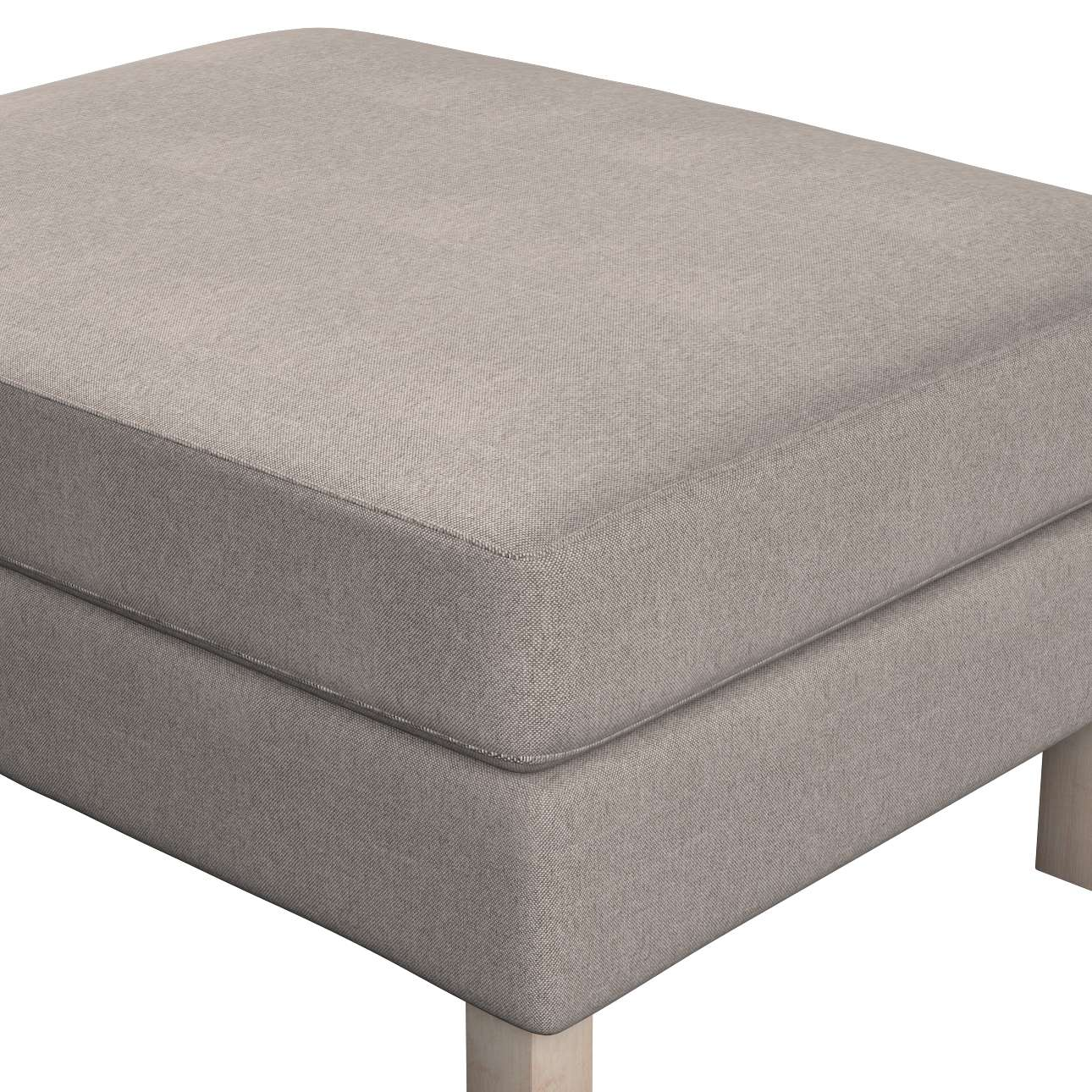 Karlstad footstool cover in collection Etna, fabric: 705-09