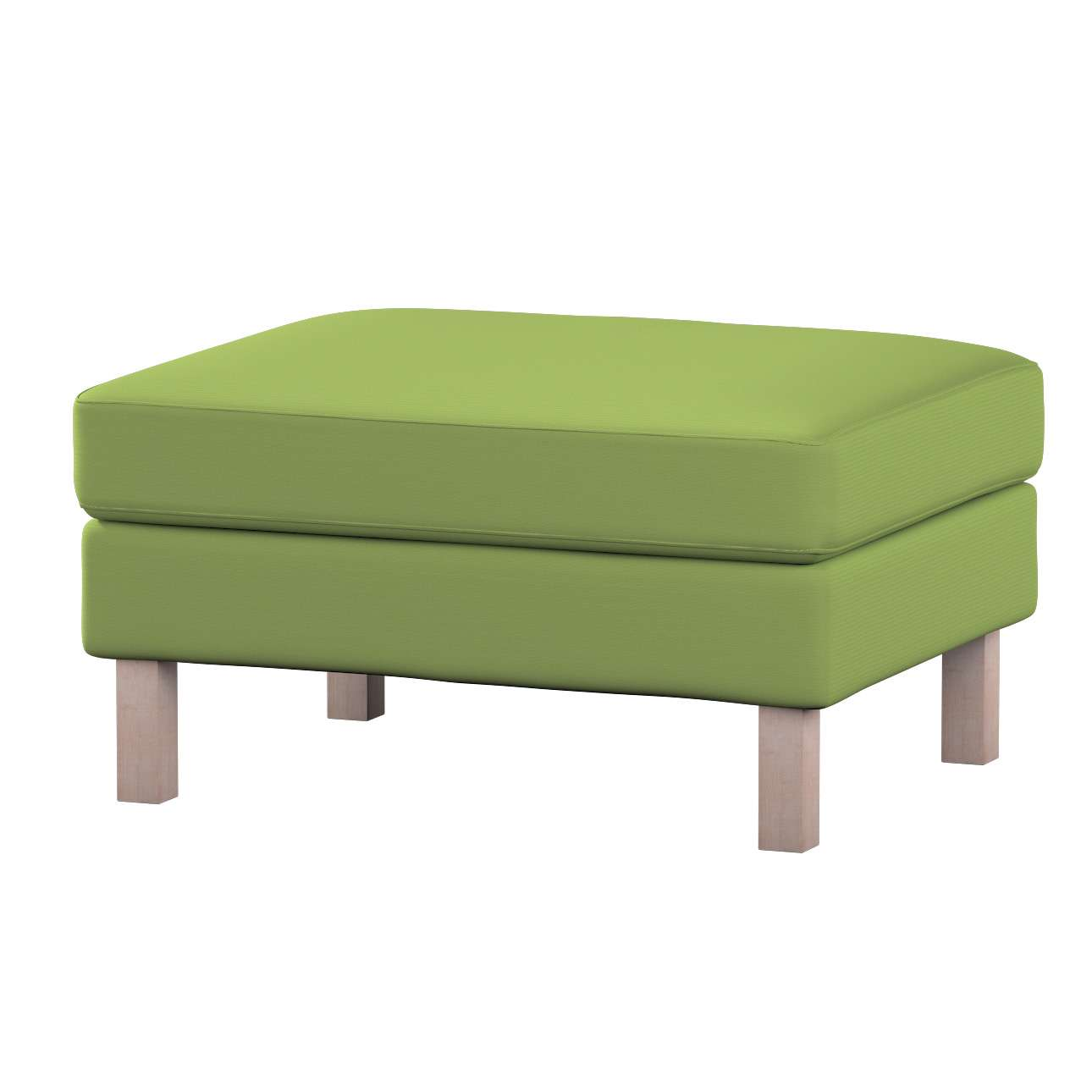 Karlstad footstool cover in collection Panama Cotton, fabric: 702-27