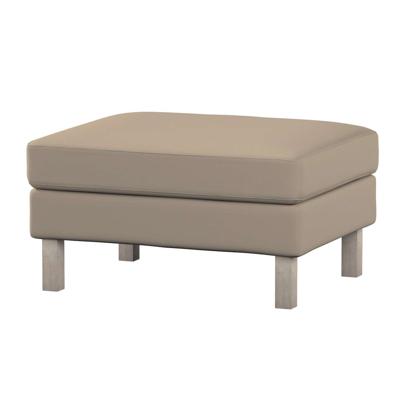 Karlstad footstool cover Karlstad footstool cover in collection Cotton Panama, fabric: 702-28