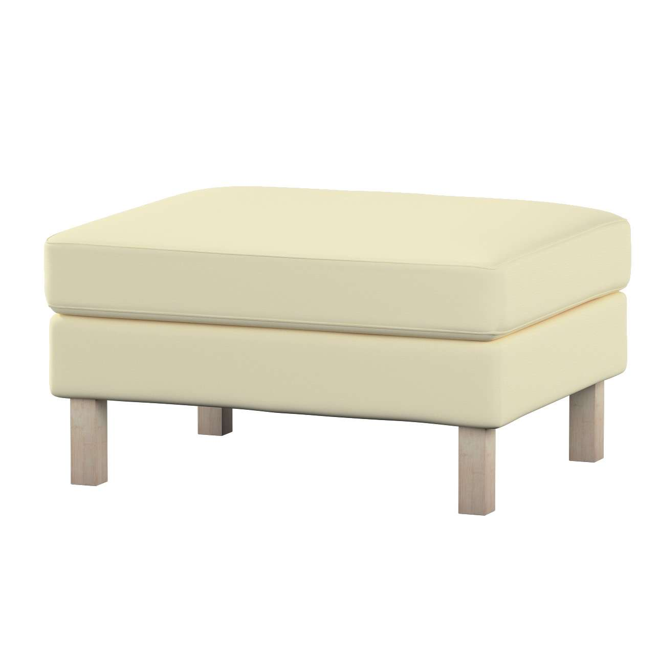 Karlstad footstool cover Karlstad footstool cover in collection Cotton Panama, fabric: 702-29