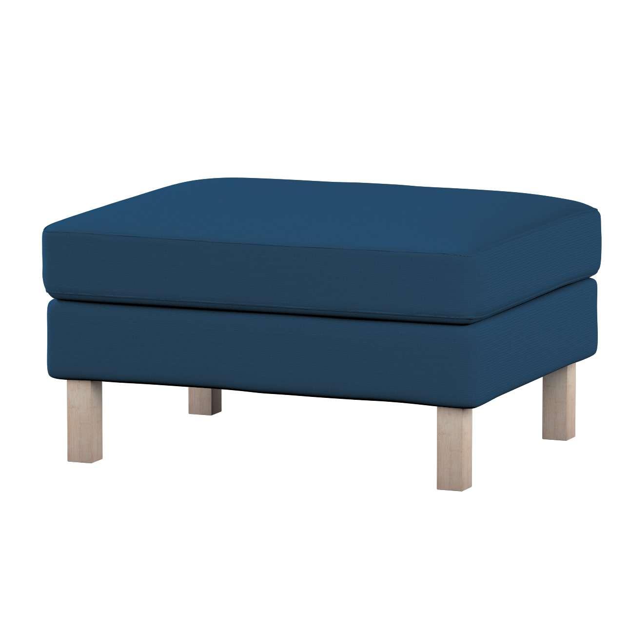 Potah na podnožku IKEA Karlstad potah na podnožku Karlstad v kolekci Cotton Panama, látka: 702-30