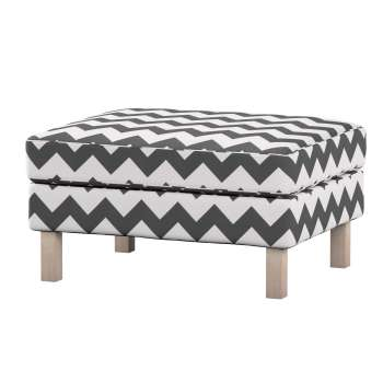Karlstad footstool cover Karlstad footstool cover in collection Comics/Geometrical, fabric: 135-02