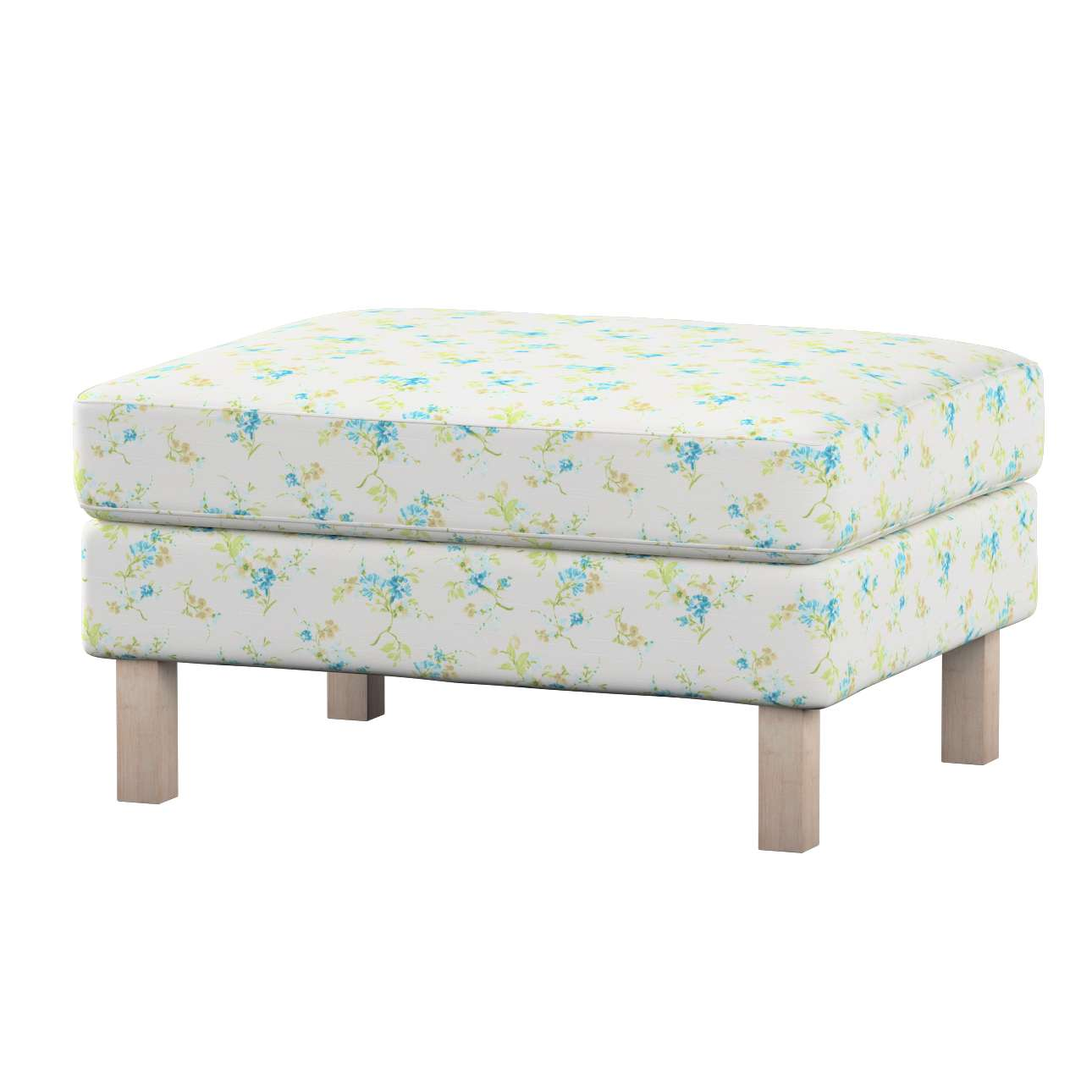Karlstad footstool cover Karlstad footstool cover in collection Mirella, fabric: 141-16