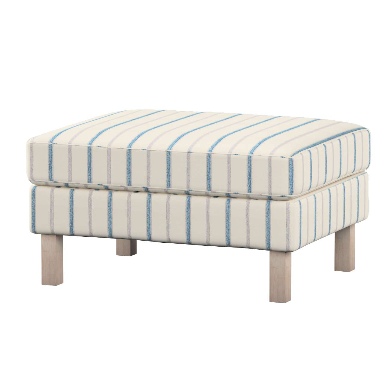 Karlstad footstool cover Karlstad footstool cover in collection Avinon, fabric: 129-66