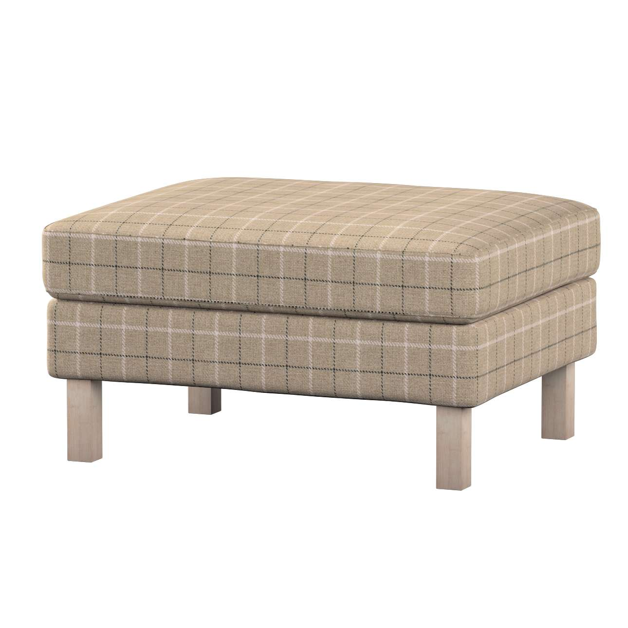Karlstad footstool cover Karlstad footstool cover in collection Edinburgh, fabric: 703-10