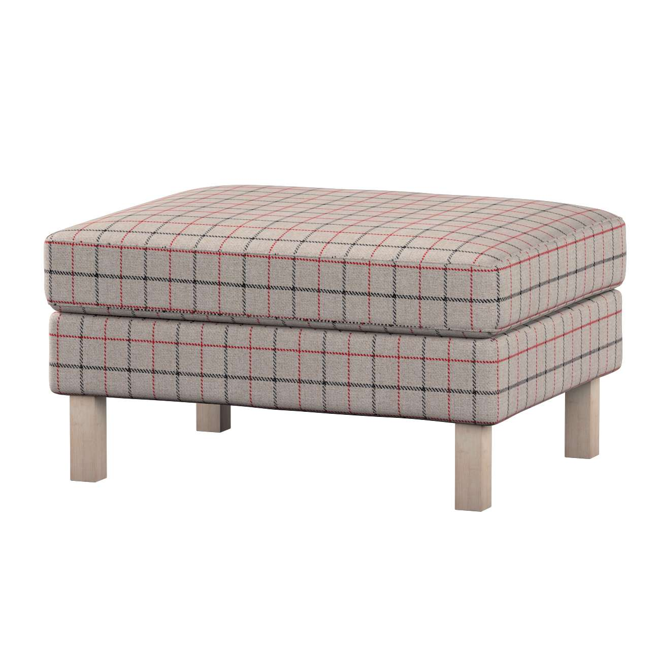 Karlstad footstool cover in collection Edinburgh, fabric: 703-13