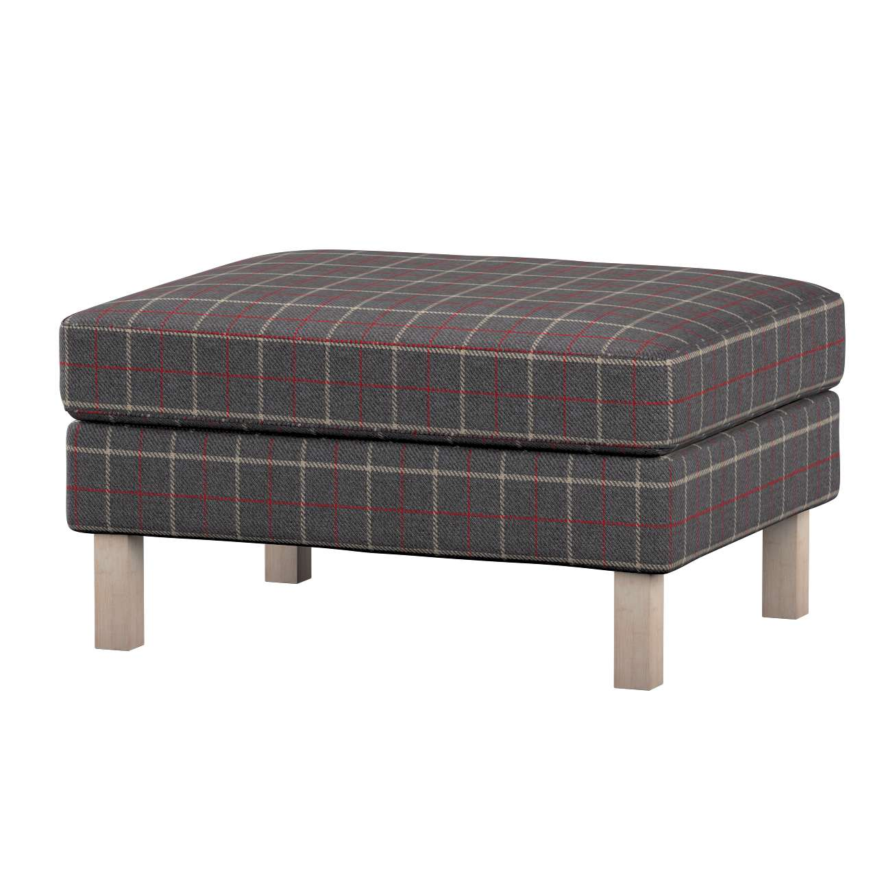 Karlstad footstool cover Karlstad footstool cover in collection Edinburgh, fabric: 703-15