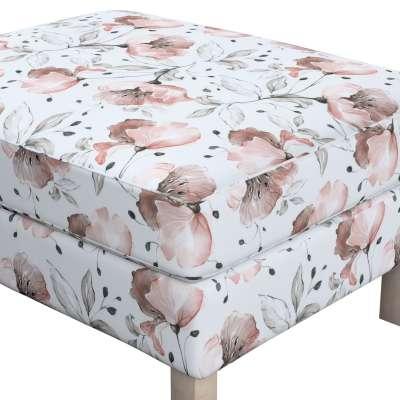 Pokrowiec na podnóżek Karlstad w kolekcji Velvet, tkanina: 704-50