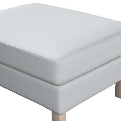Potah na podnožku IKEA Karlstad 161-18 světle šedá Kolekce Living II