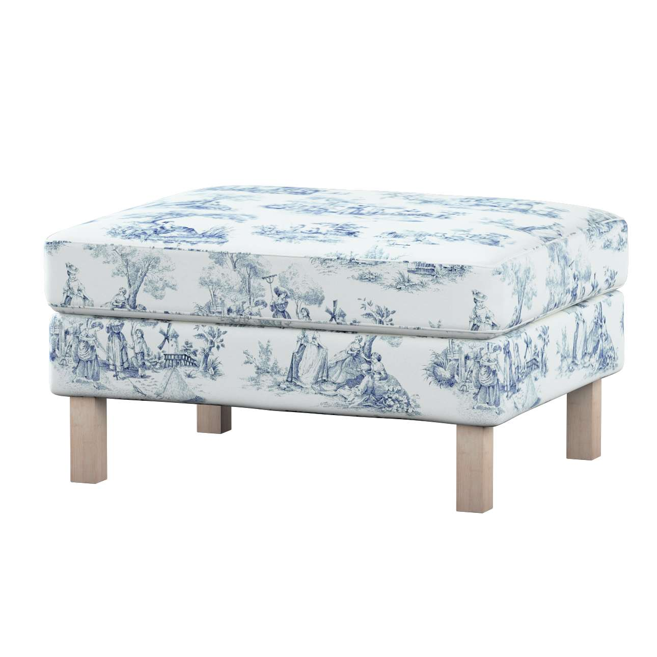 Karlstad footstool cover Karlstad footstool cover in collection Avinon, fabric: 132-66