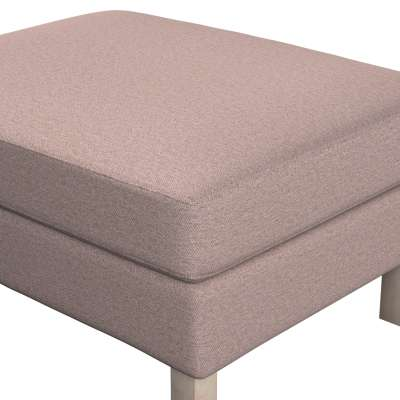 Bezug für Karlstad Hocker 161-88 grau-rosa Kollektion Madrid