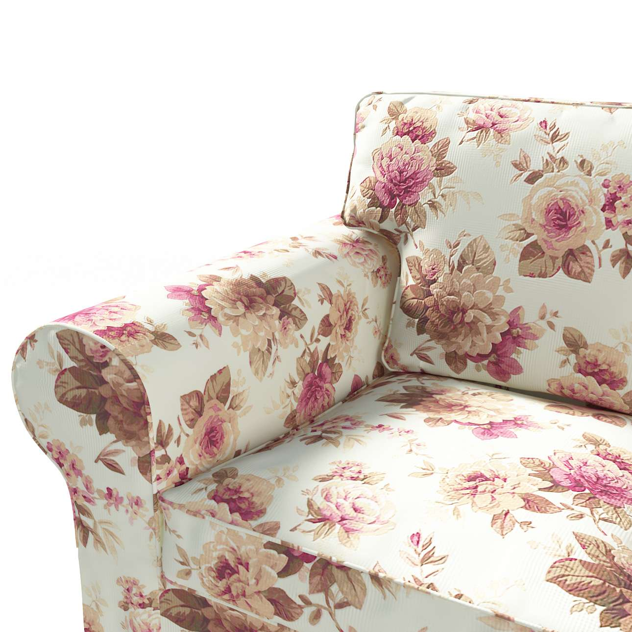 Ektorp 3-Sitzer Schlafsofabezug, ALTES Modell Sofahusse Ektorp 3-Sitzer Schlafsofa von der Kollektion Mirella, Stoff: 141-06