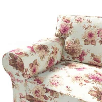 Ektorp trekk 3 seter sovesofa med boks for sengetøy fra kolleksjonen Londres , Stoffets bredde: 141-06