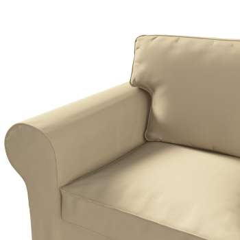 Pokrowiec na sofę Ektorp 3-osobową, rozkładaną STARY MODEL Sofa Ektorp 3-osobowa rozkładana w kolekcji Cotton Panama, tkanina: 702-01