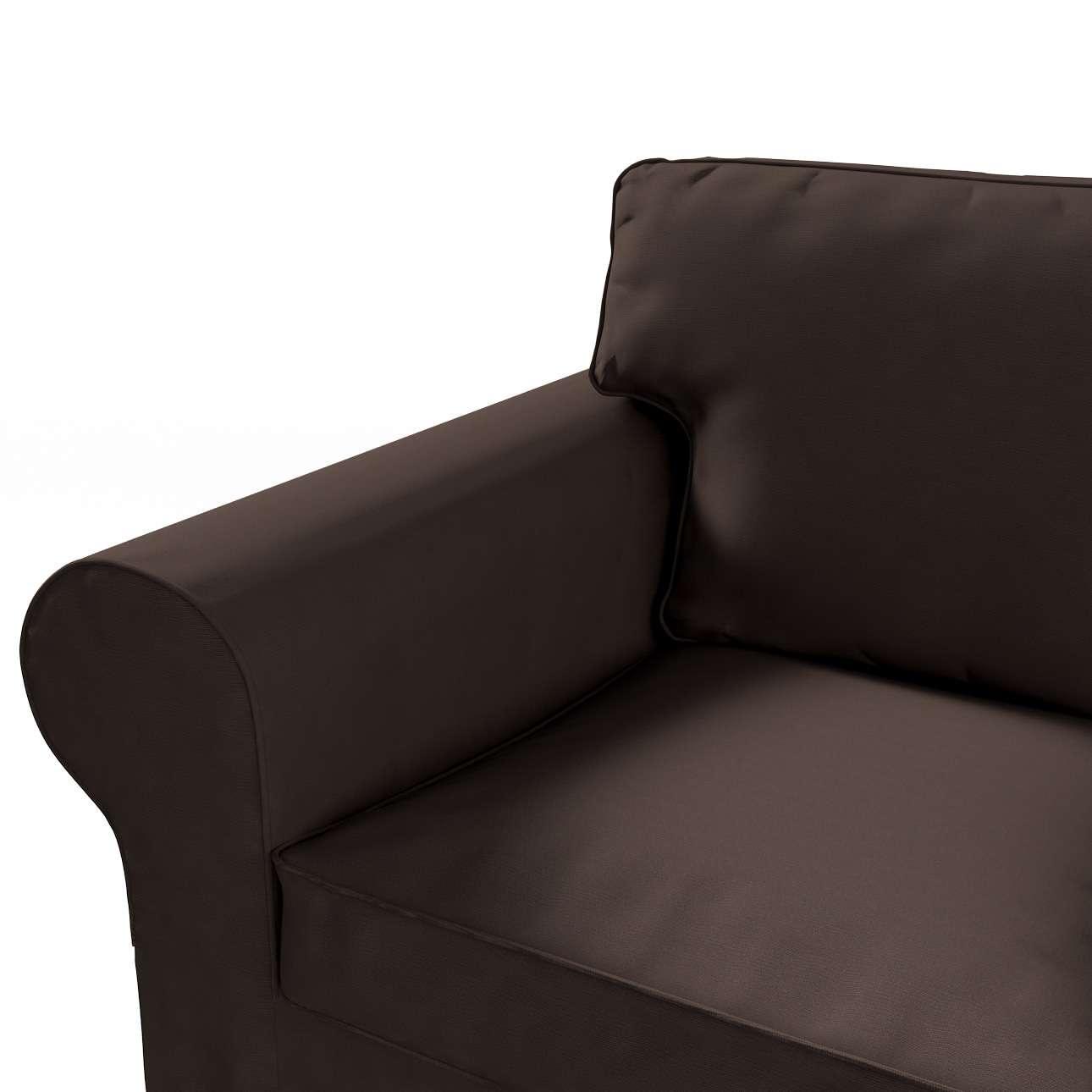 Pokrowiec na sofę Ektorp 3-osobową, rozkładaną, PIXBO w kolekcji Cotton Panama, tkanina: 702-03
