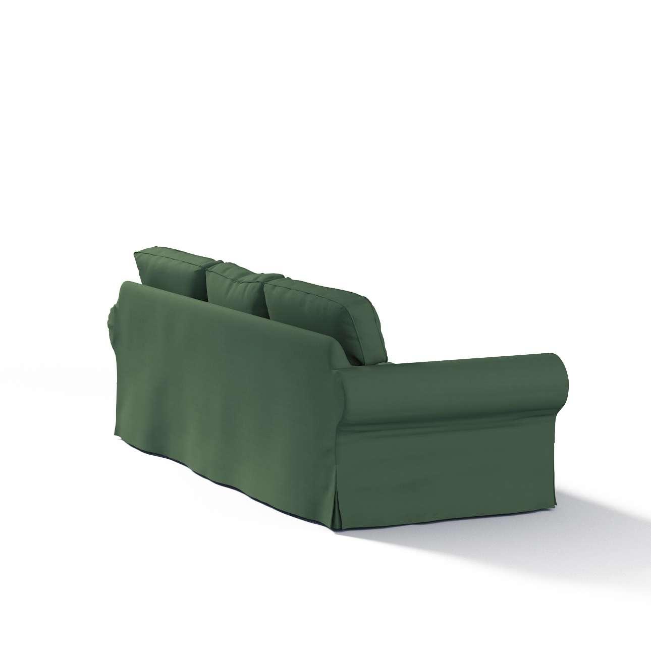 Ektorp 3-Sitzer Schlafsofabezug, ALTES Modell Sofahusse Ektorp 3-Sitzer Schlafsofa von der Kollektion Cotton Panama, Stoff: 702-06