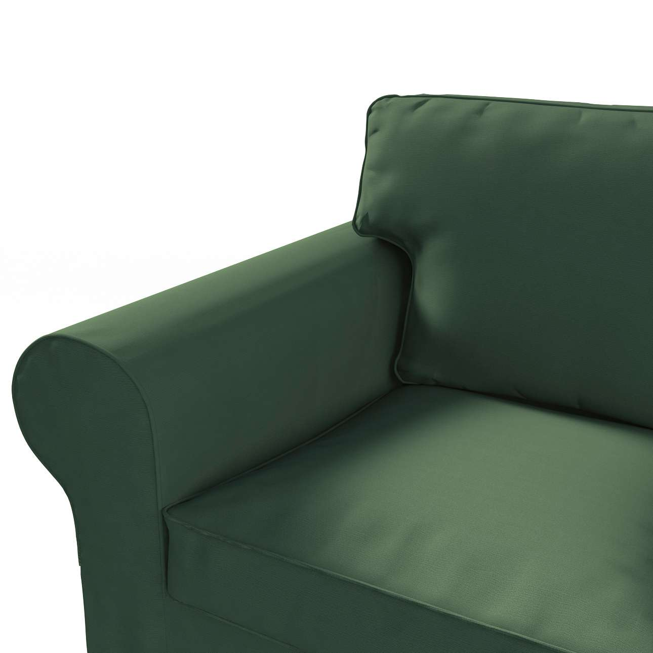 Pokrowiec na sofę Ektorp 3-osobową, rozkładaną STARY MODEL w kolekcji Cotton Panama, tkanina: 702-06