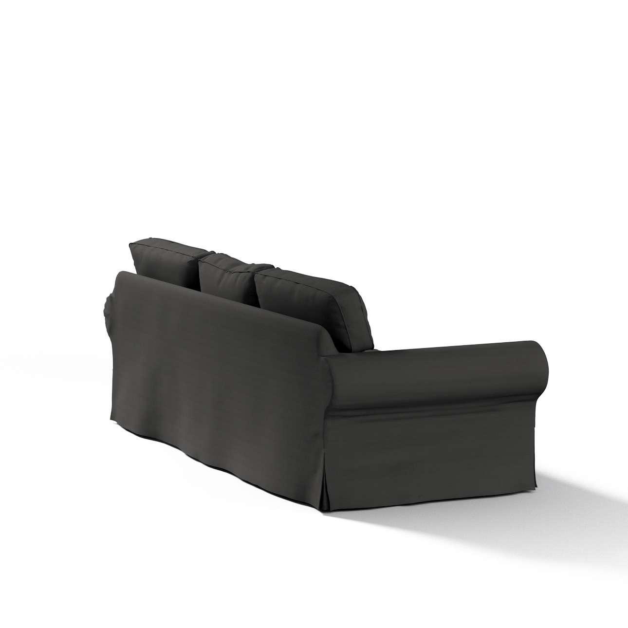 Ektorp 3-Sitzer Schlafsofabezug, ALTES Modell Sofahusse Ektorp 3-Sitzer Schlafsofa von der Kollektion Cotton Panama, Stoff: 702-08