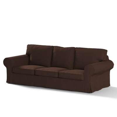Ektorp trivietės sofos-lovos užvalkalas 702-18 šokoladinės spalvos šenilinis audinys Kolekcija Chenille