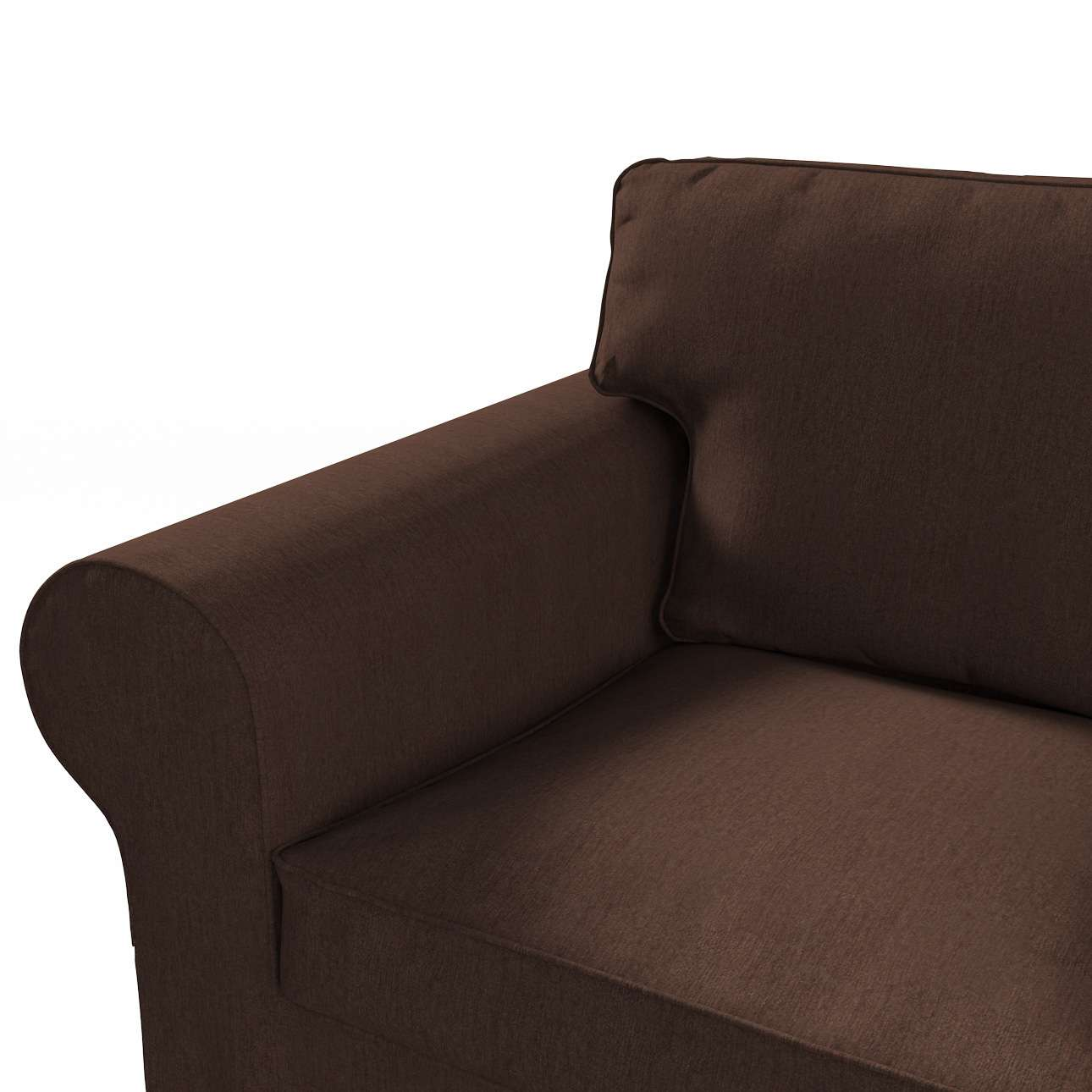 Pokrowiec na sofę Ektorp 3-osobową, rozkładaną STARY MODEL w kolekcji Chenille, tkanina: 702-18