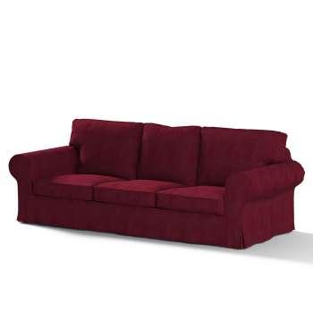 Pokrowiec na sofę Ektorp 3-osobową, rozkładaną STARY MODEL Sofa Ektorp 3-osobowa rozkładana w kolekcji Chenille, tkanina: 702-19