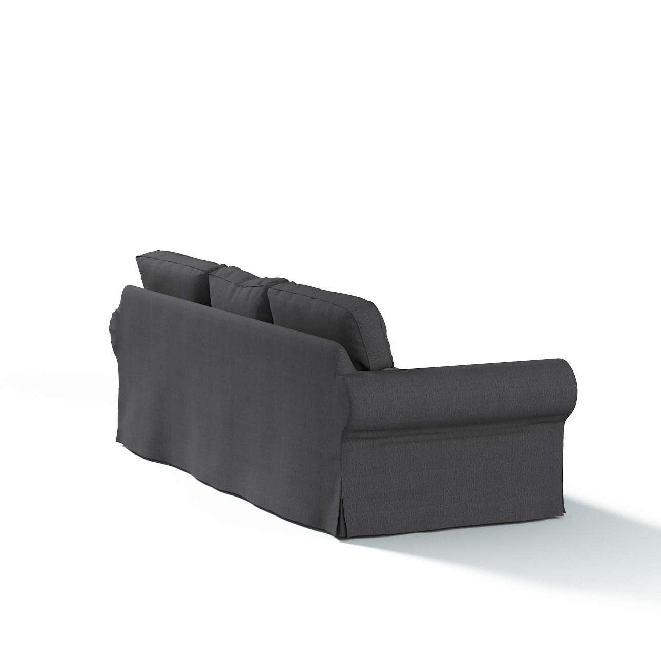 Pokrowiec na sofę Ektorp 3-osobową, rozkładaną, PIXBO w kolekcji Chenille, tkanina: 702-20