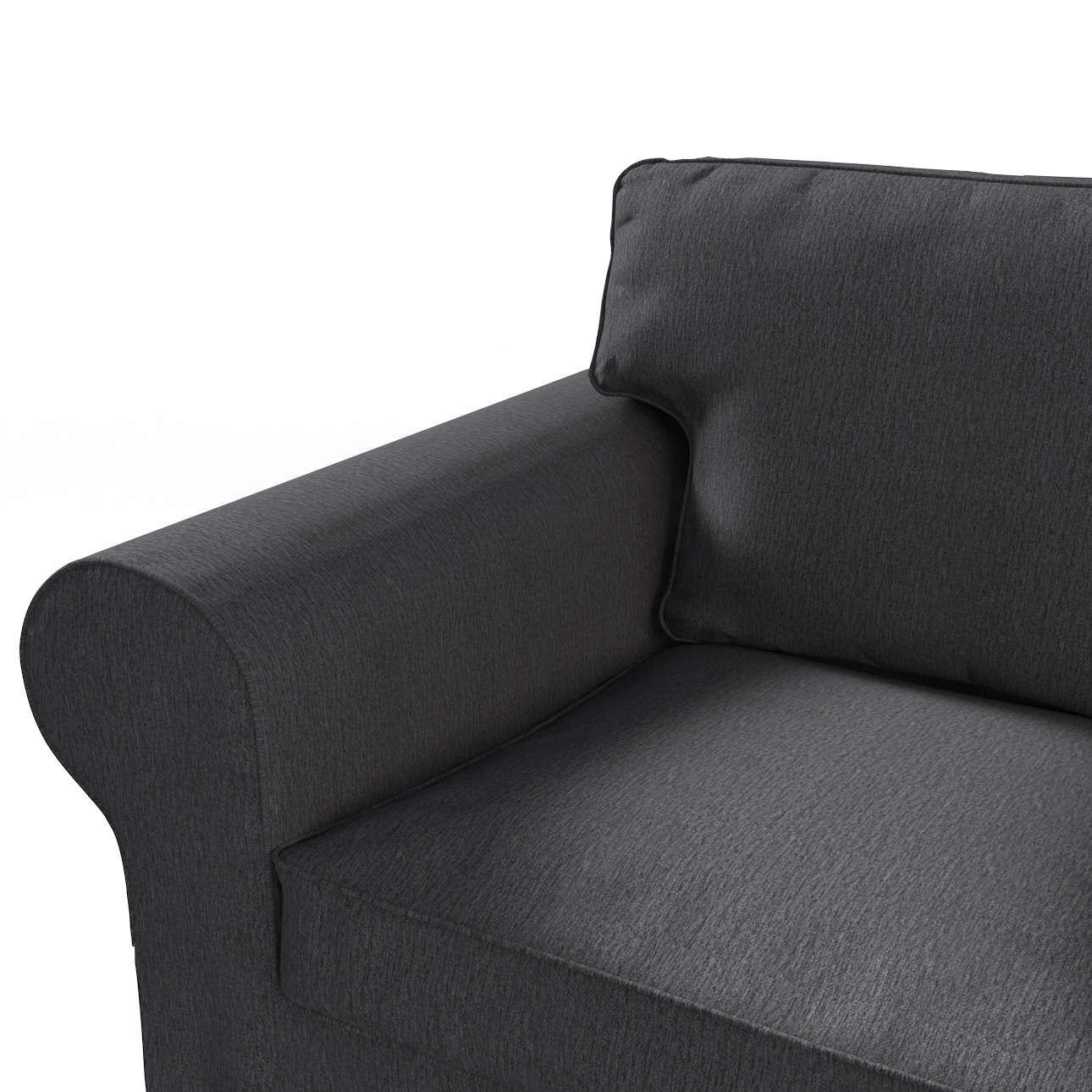 Pokrowiec na sofę Ektorp 3-osobową, rozkładaną STARY MODEL w kolekcji Chenille, tkanina: 702-20