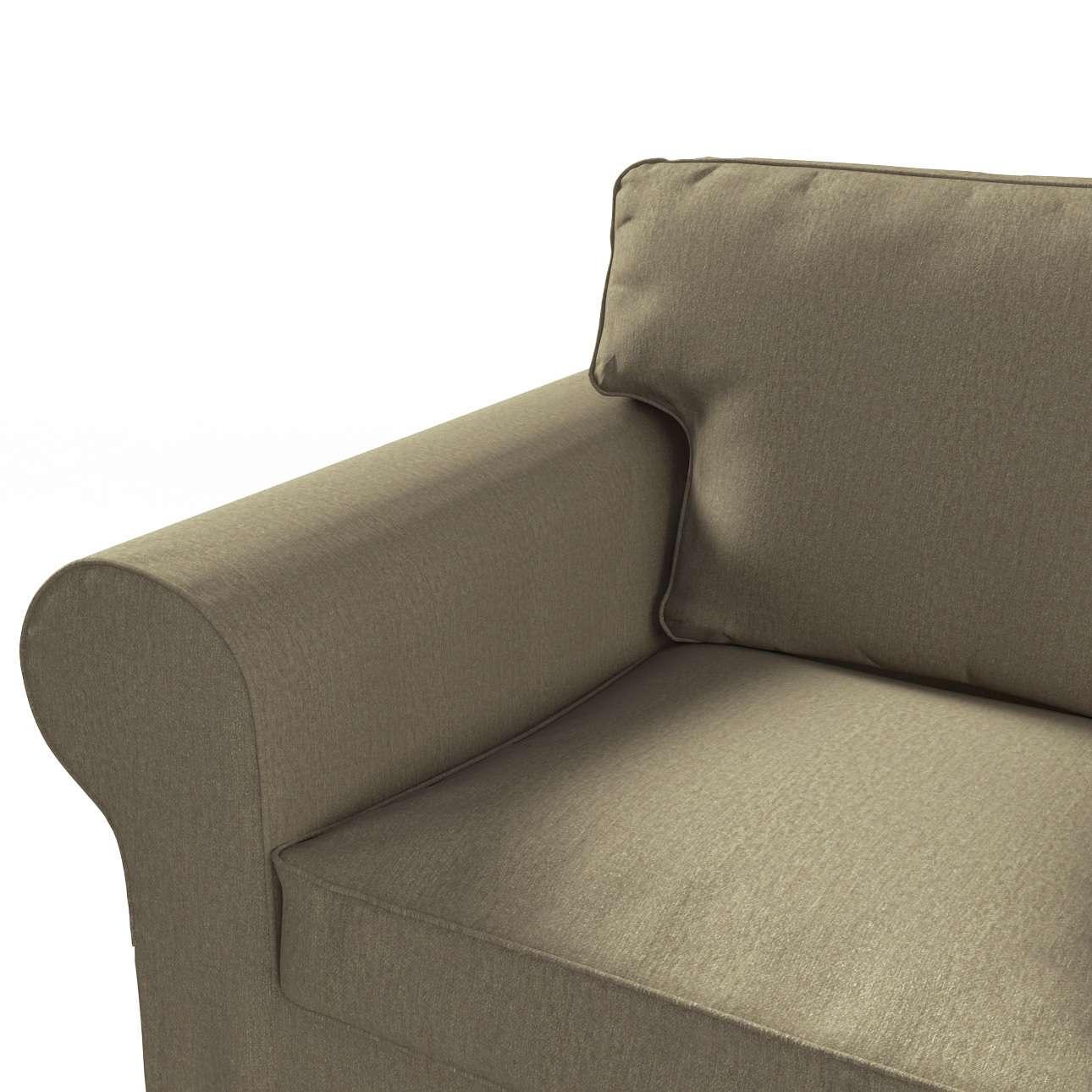 Pokrowiec na sofę Ektorp 3-osobową, rozkładaną, PIXBO w kolekcji Chenille, tkanina: 702-21