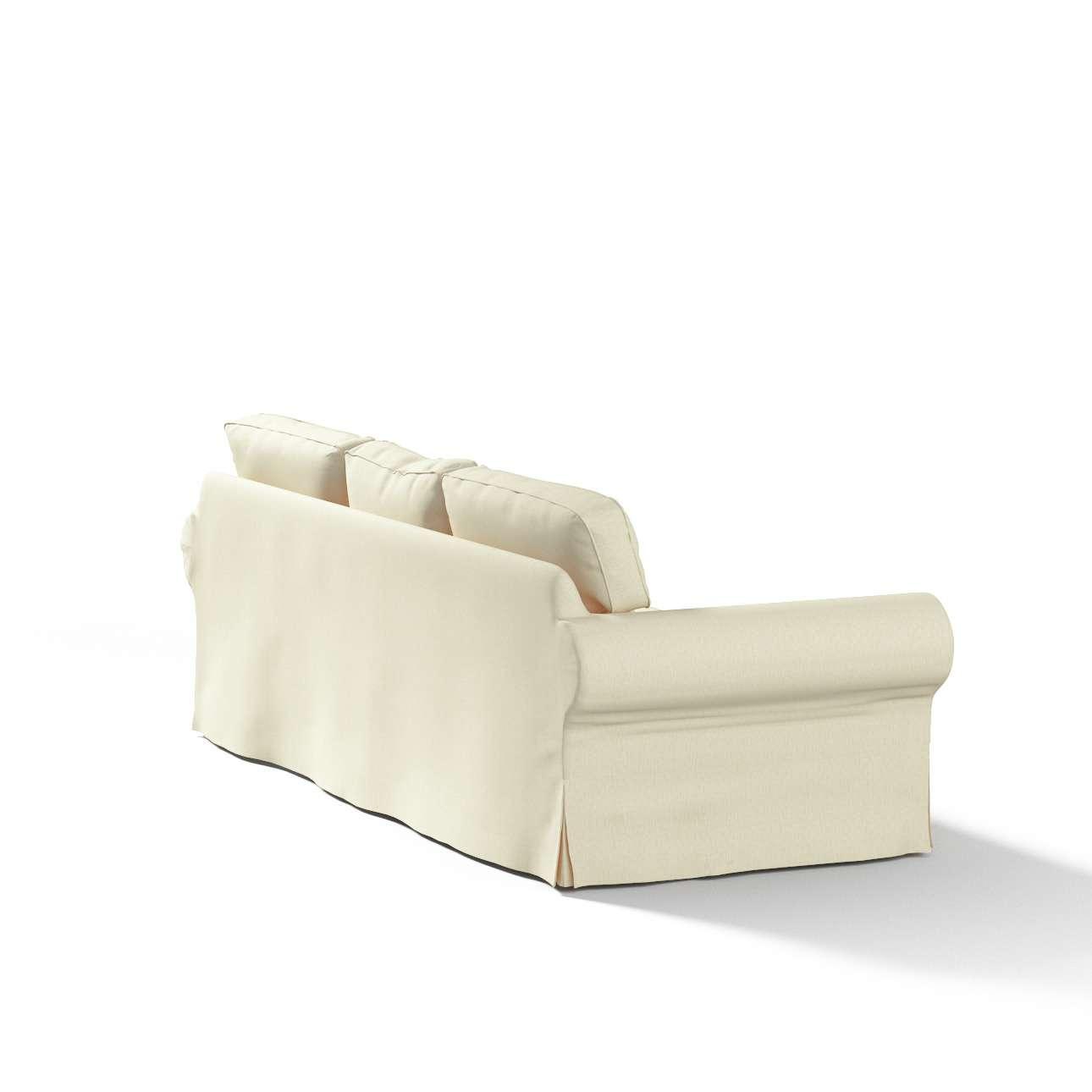Pokrowiec na sofę Ektorp 3-osobową, rozkładaną STARY MODEL Sofa Ektorp 3-osobowa rozkładana w kolekcji Chenille, tkanina: 702-22