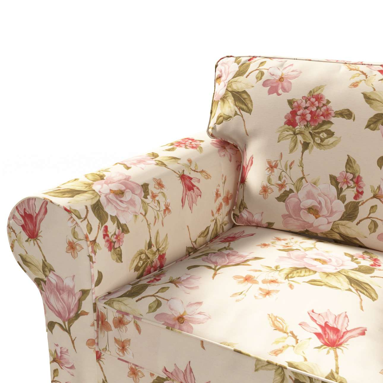 Poťah na sedačku Ektorp STARÝ MODEL (rozkladacia, pre 3 osoby) V kolekcii Londres, tkanina: 123-05
