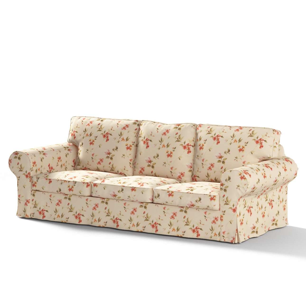 Pokrowiec na sofę Ektorp 3-osobową, rozkładaną, PIXBO w kolekcji Londres, tkanina: 124-05
