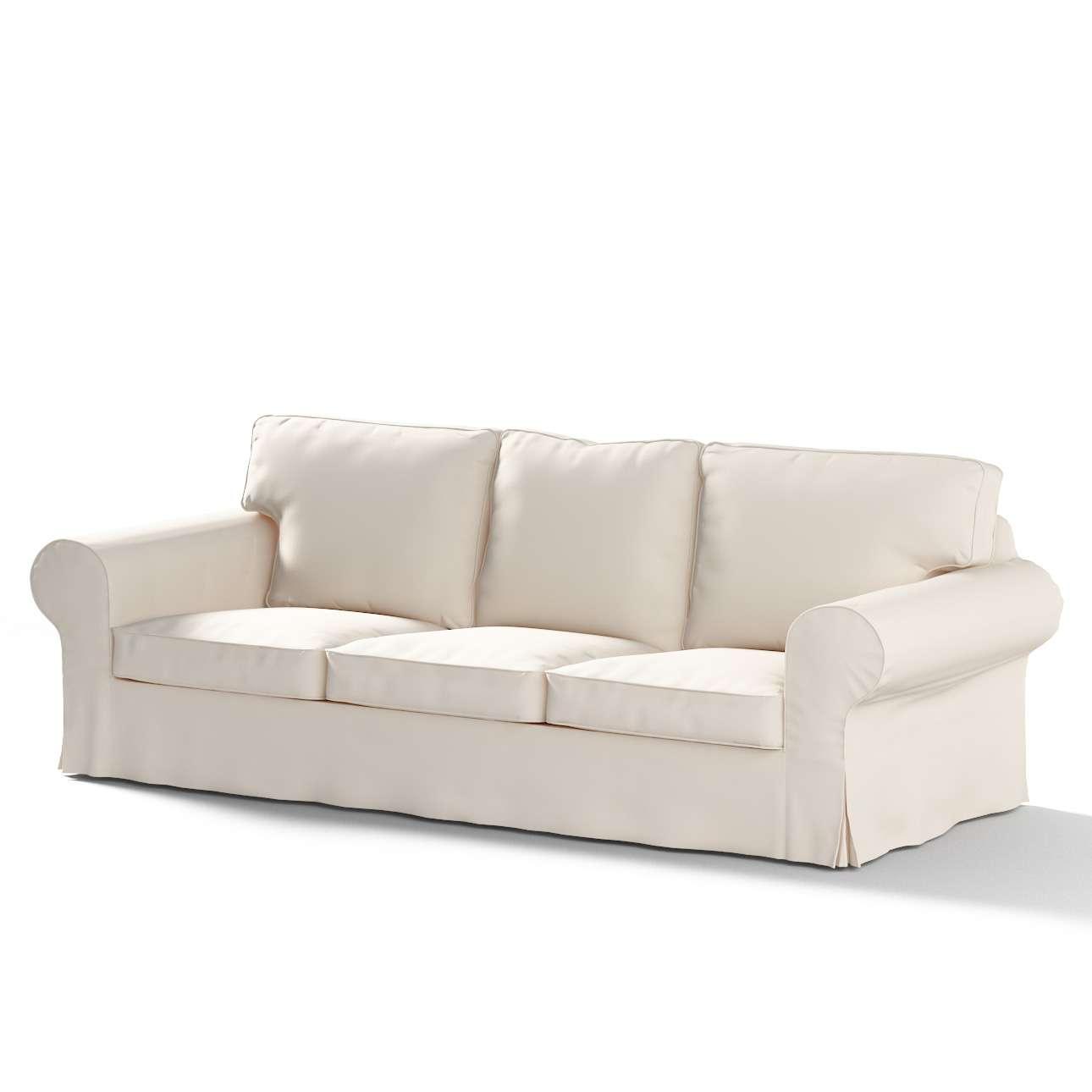 Pokrowiec na sofę Ektorp 3-osobową, rozkładaną STARY MODEL Sofa Ektorp 3-osobowa rozkładana w kolekcji Etna , tkanina: 705-01