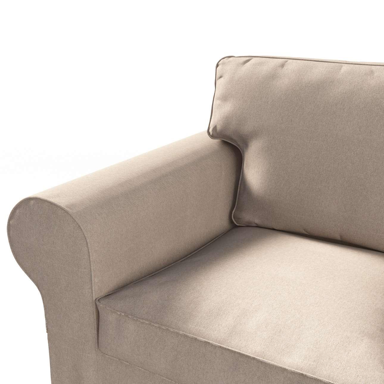 Pokrowiec na sofę Ektorp 3-osobową, rozkładaną, PIXBO w kolekcji Etna, tkanina: 705-09