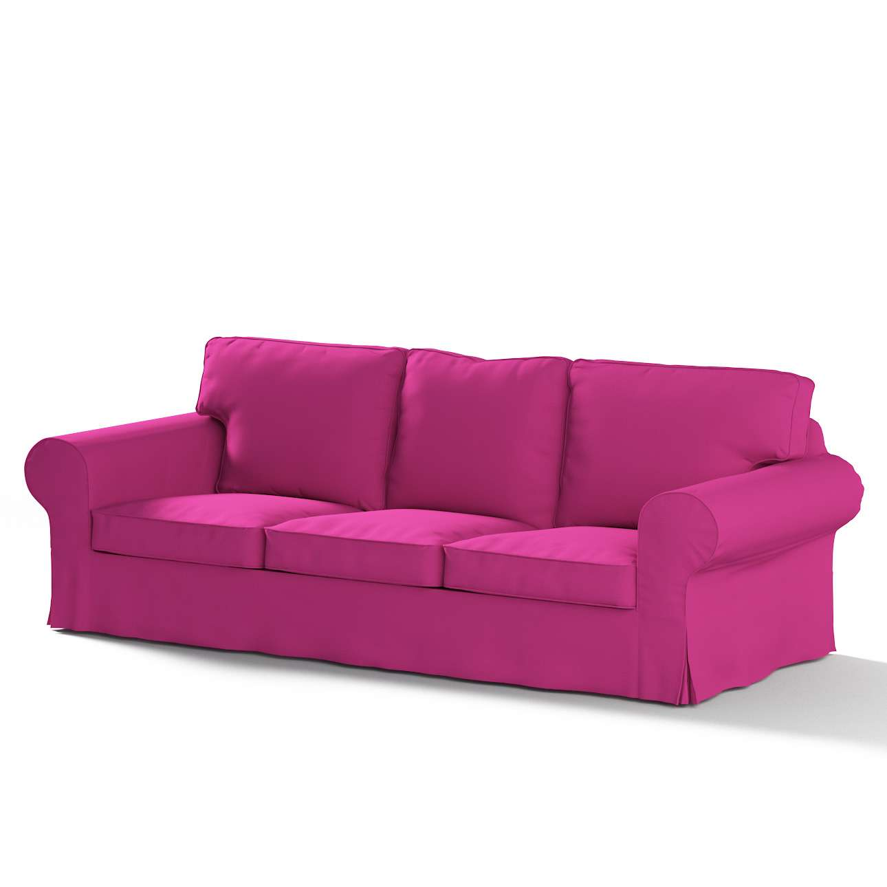 Potah na pohovku IKEA  Ektorp 3-místná, rozkládací STARÝ MODEL pohovka Ektorp 3-místná rozkládací v kolekci Etna, látka: 705-23