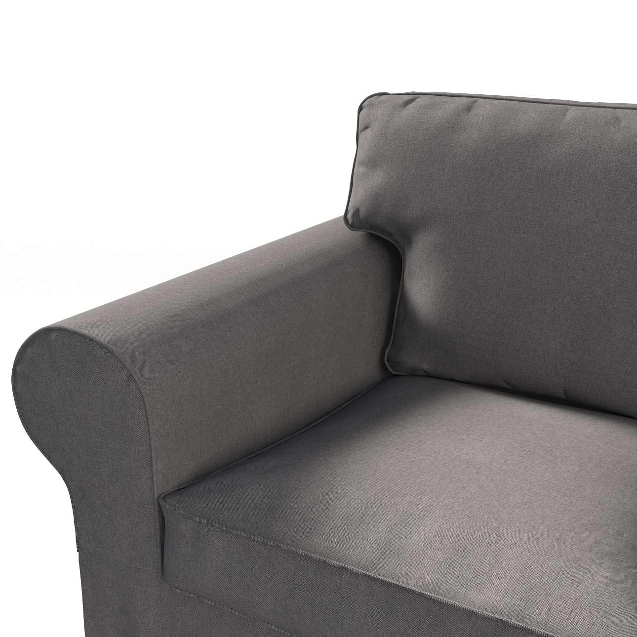 Pokrowiec na sofę Ektorp 3-osobową, rozkładaną, PIXBO w kolekcji Etna, tkanina: 705-35