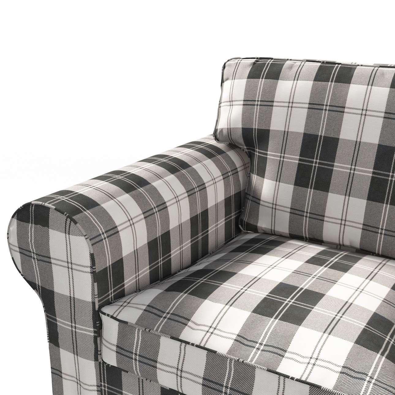 Pokrowiec na sofę Ektorp 3-osobową, rozkładaną, PIXBO w kolekcji Edinburgh, tkanina: 115-74