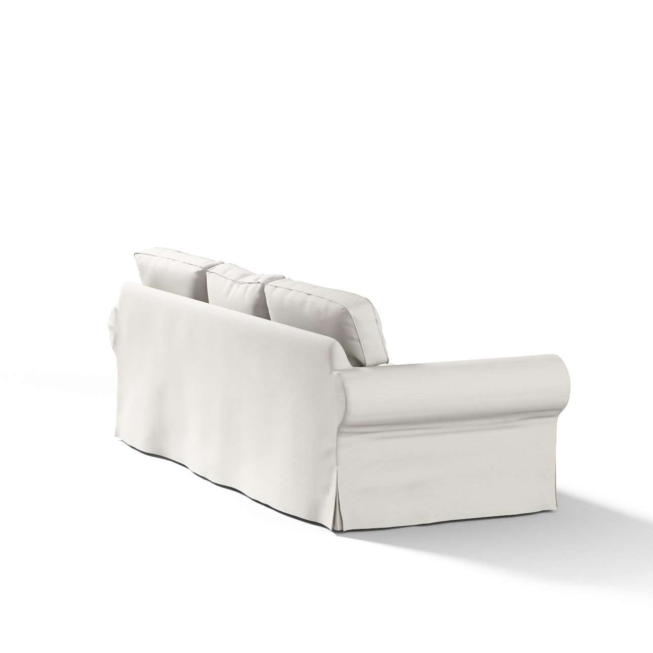 Pokrowiec na sofę Ektorp 3-osobową, rozkładaną STARY MODEL Sofa Ektorp 3-osobowa rozkładana w kolekcji Cotton Panama, tkanina: 702-31